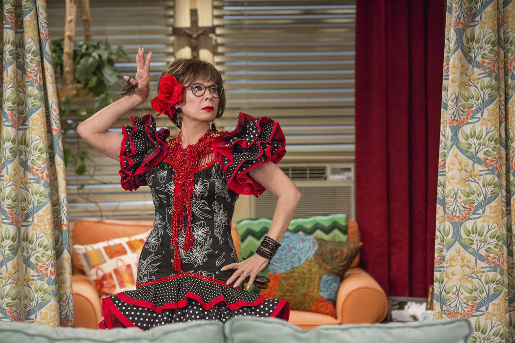"""This image released by Netflix shows Rita Moreno in a scene from """"One Day At A Time."""" ..."""