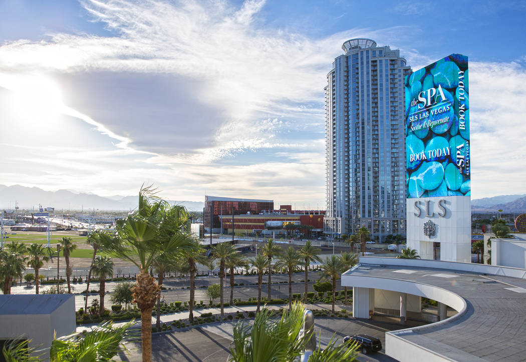 SLS Las Vegas on Thursday, June 27, 2019, in Las Vegas. (Benjamin Hager/Las Vegas Review-Journa ...