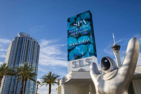 SLS Las Vegas on Thursday, June 27, 2019, in Las Vegas. (Benjamin Hager/Las Vegas Review-Journa ...