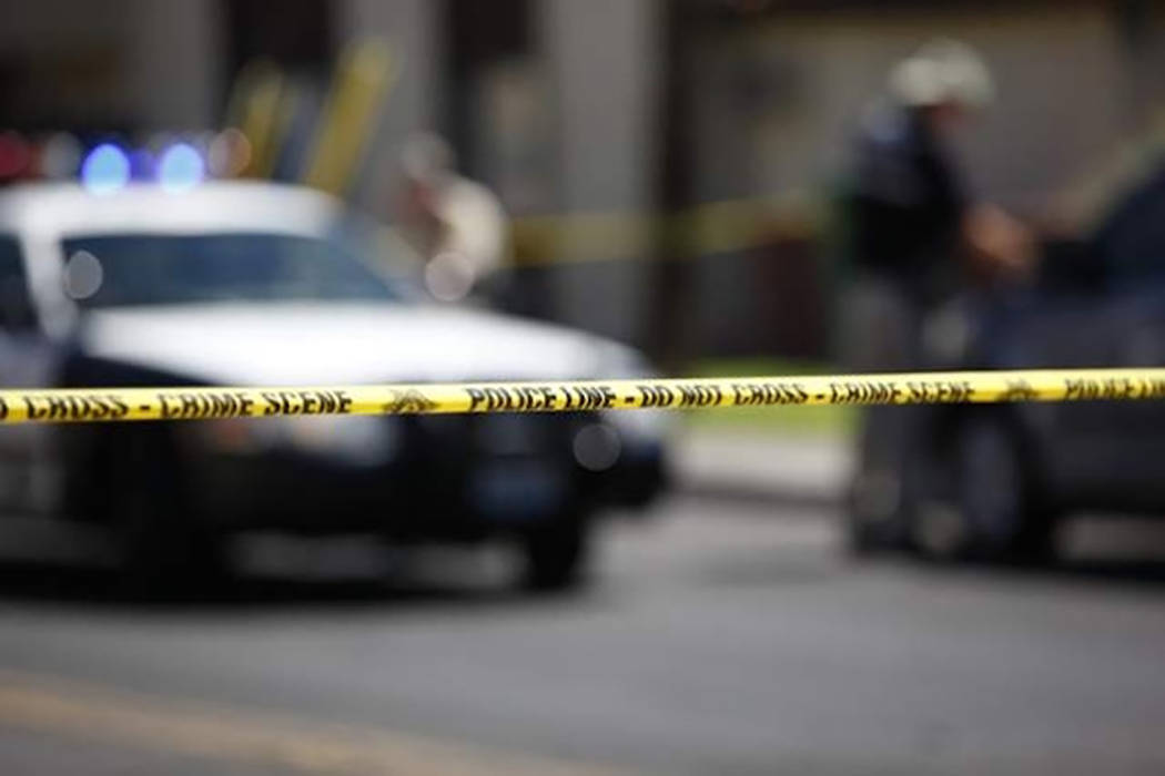 Las Vegas detectives are investigating a Saturday morning homicide in a north valley strip mall ...