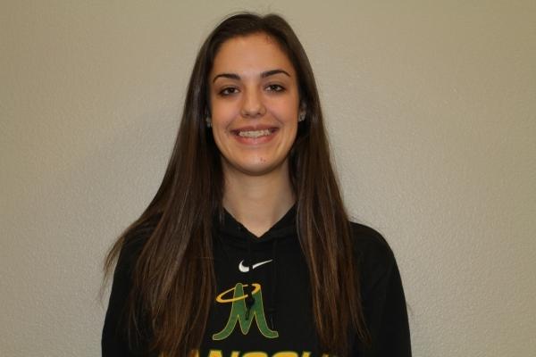 Katelyn Oppio, Bishop Manogue: The 6-foot-1-inch senior middle blocker was the Sierra League ...