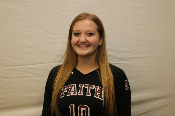 Megan Kronschnabel, Faith Lutheran: The Division I-A state Player of the Year as a senior, K ...