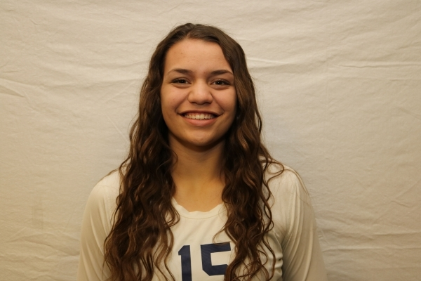 Whittnee Nihipali, Shadow Ridge: The 6-foot-2-inch sophomore outside hitter led the state wi ...