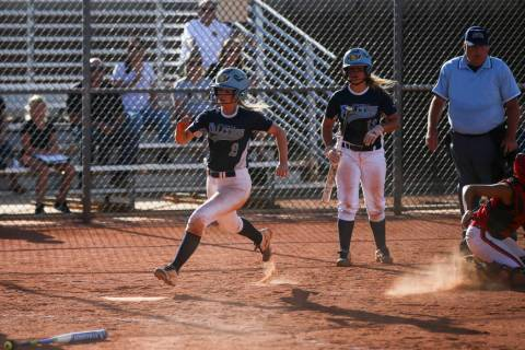 Kylie Becker is one of four returning starters for Foothill. Chase Stevens/Las Vegas Review- ...