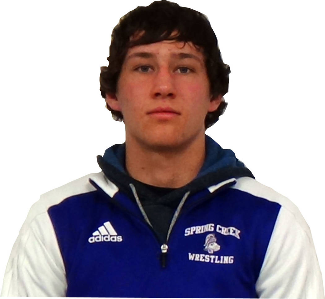 Spring Creek's Dyllan Fuchs is a member of the Las Vegas Review-Journal's all-st ...