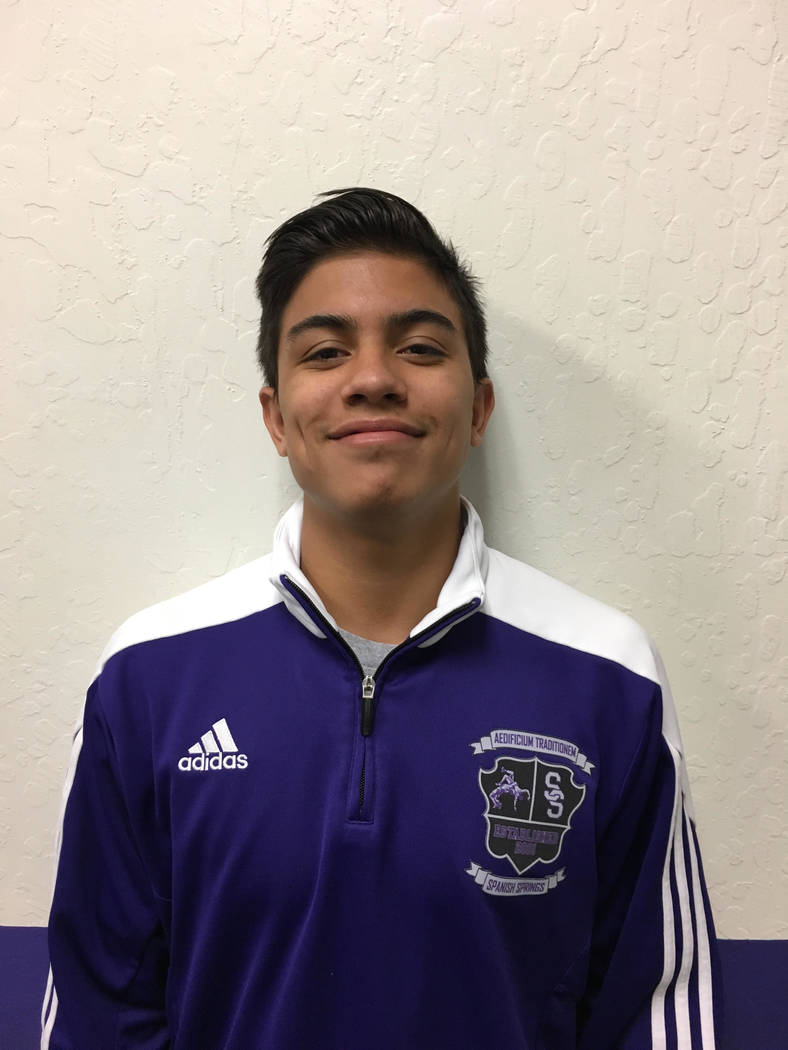 Spanish Springs' Jacob Ruiz is a member of the Las Vegas Review-Journal's all-st ...