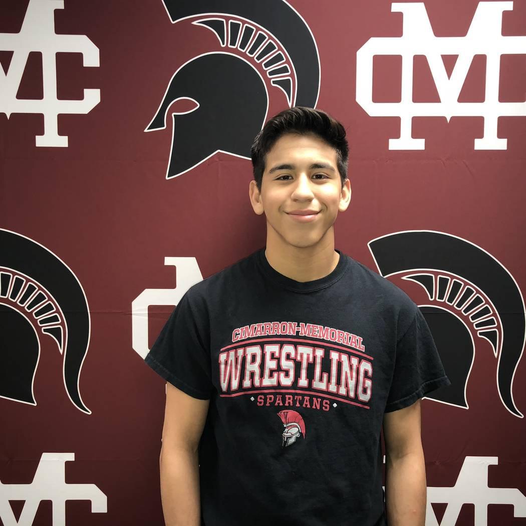 Cimarron-Memorial's Nathanial Rodriguez is a member of the Las Vegas Review-Journal&#8 ...