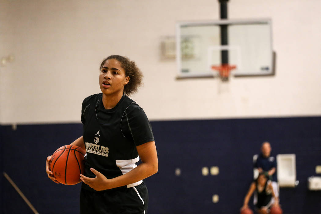 Spring Valley's Kayla Harris is a member of the Las Vegas Review-Journal's all-s ...