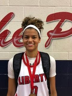 Liberty's Rae Burrell is a member of the Las Vegas Review-Journal's all-state gi ...