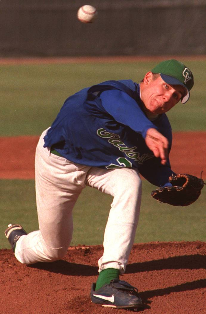 Green Valley pitcher Mike Nannini Ralph Fountain photo
