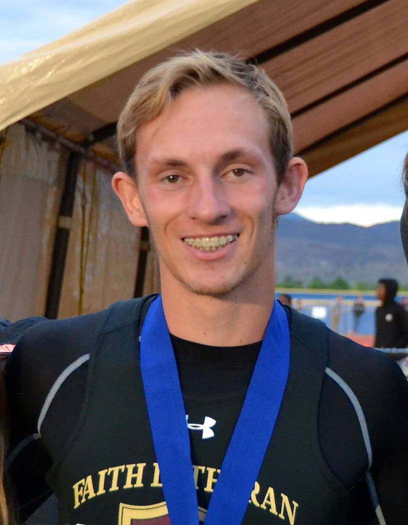 Faith Lutheran's Sever Stewart is a member of the Las Vegas Review-Journal's all ...