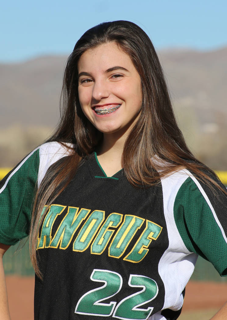 Bishop Manogue's Chelie Senini is a member of the Las Vegas Review-Journal's all ...