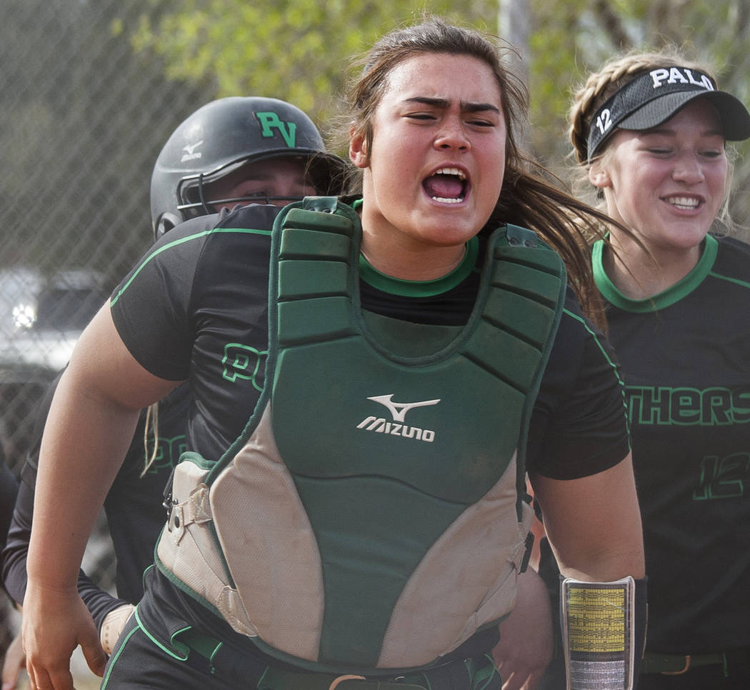 Palo Verde's Grace Chavez is a member of the Las Vegas Review-Journal's all-stat ...
