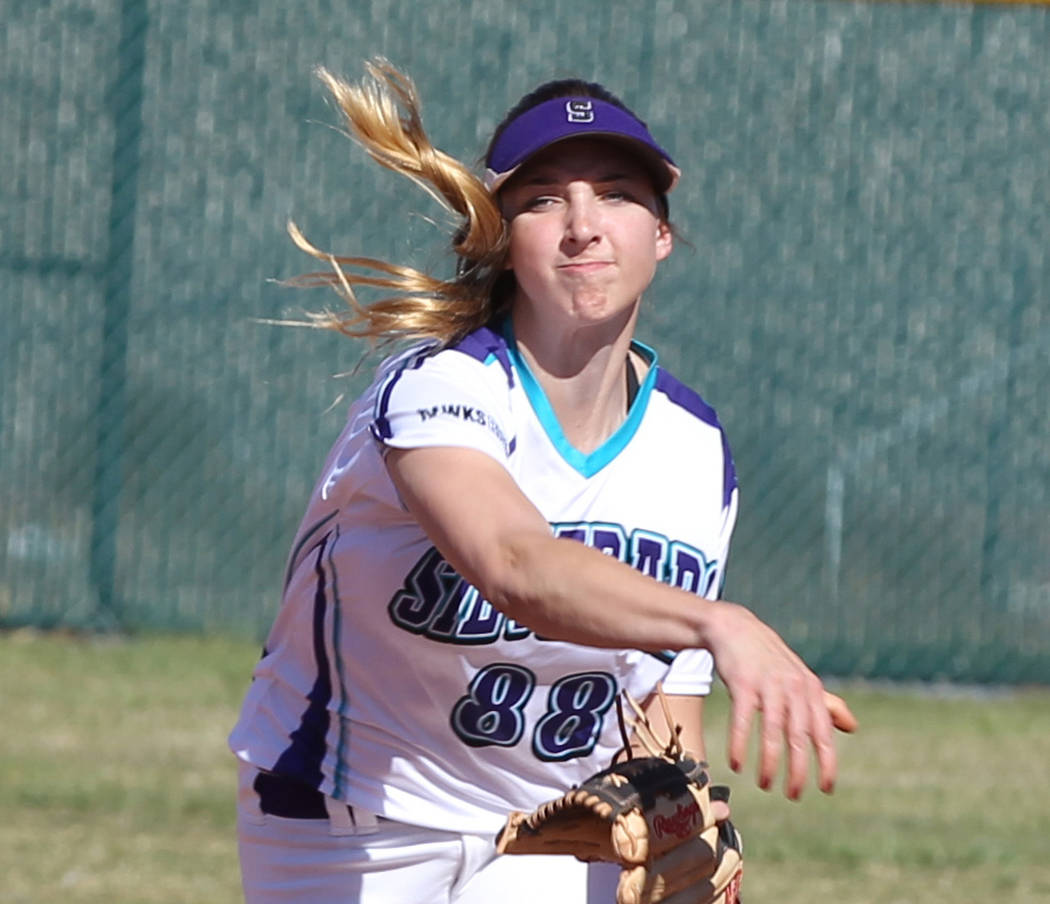 Silverado's Megan Johnson is a member of the Las Vegas Review-Journal's all-stat ...