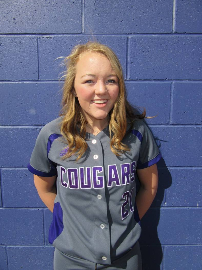 Spanish Springs' Tyra Clary is a member of the Las Vegas Review-Journal's all-st ...
