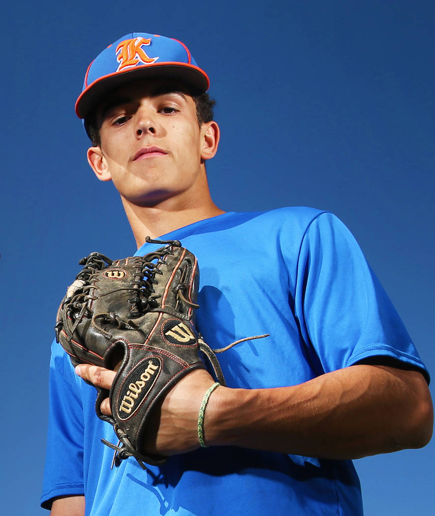 Bishop Gorman's Carson Wells is a member of the Las Vegas Review-Journal's all-s ...