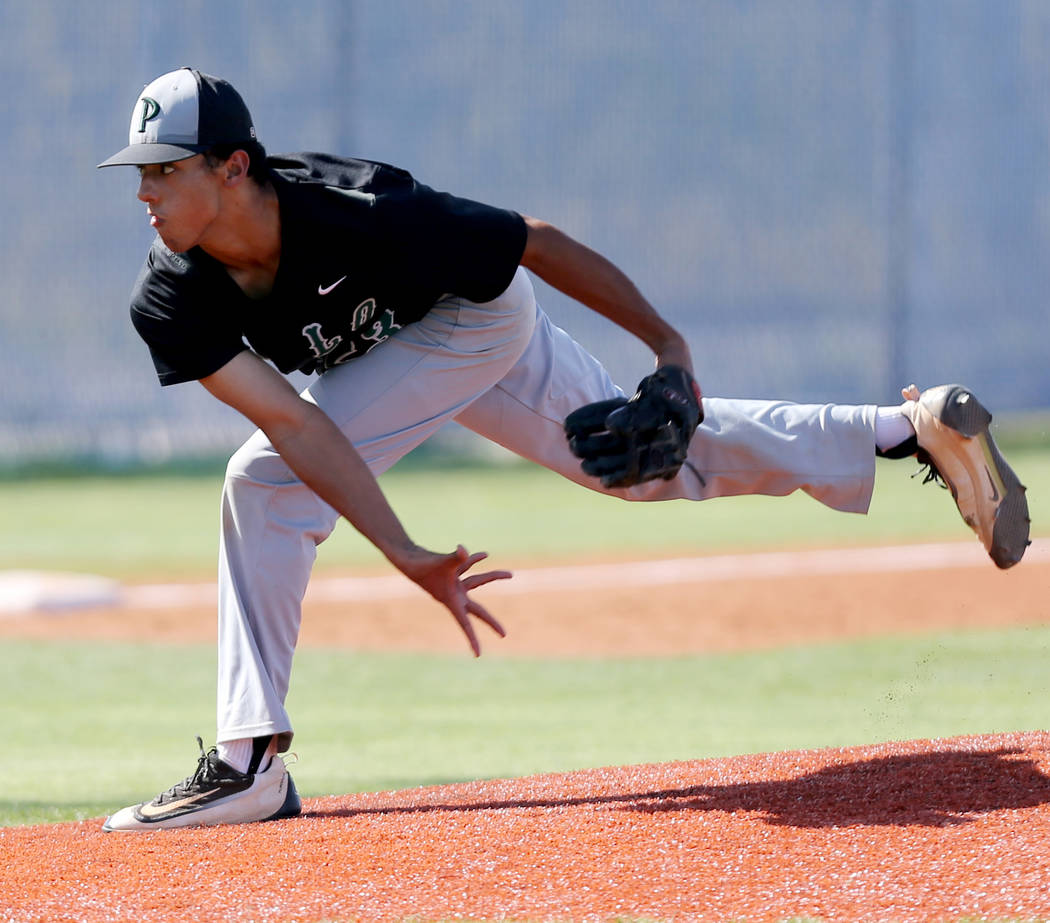 Palo Verde's Jacob Godman is a member of the Las Vegas Review-Journal's all-stat ...