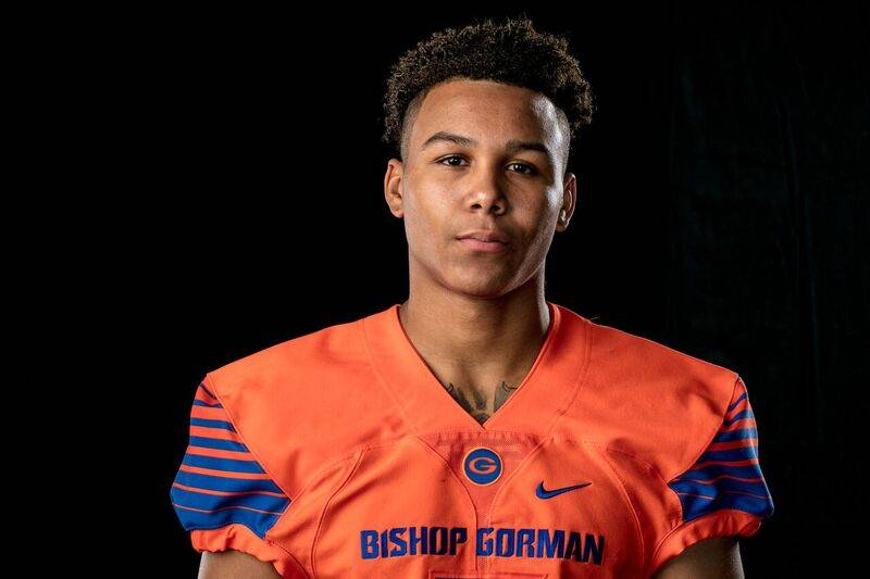 Bishop Gorman's Jalen Nailor is a member of the Las Vegas Review-Journal's all-s ...