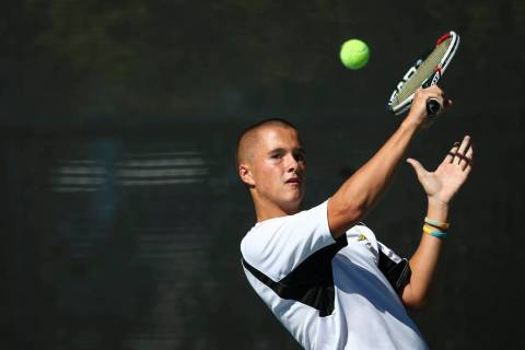 Artem Iermolov finished second in last year's Class 4A state singles tournament. Chase ...