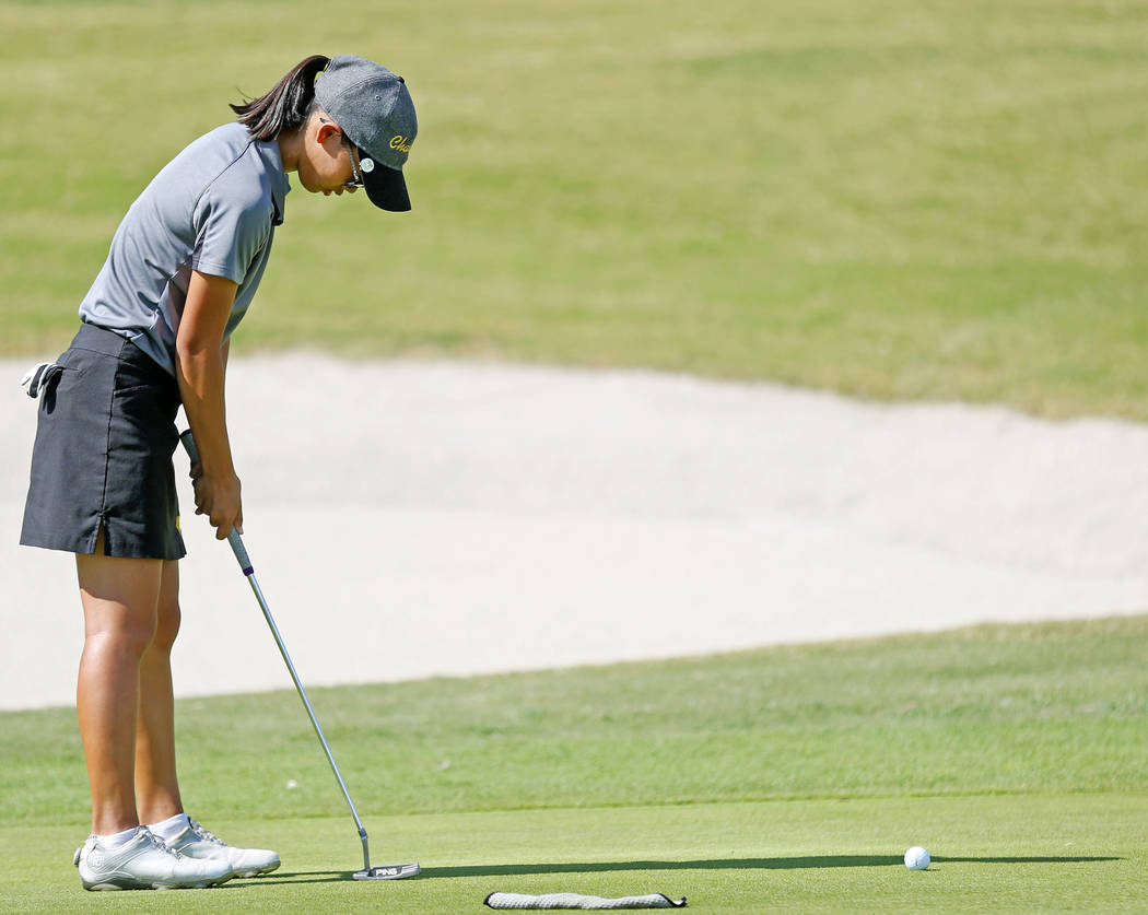 Riana Mission finished second in the Sunset Region tournament and fifth in the Class 4A stat ...