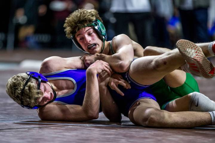 Will Zernich, right, is one of four returning state champions for Green Valley. Patrick Conn ...