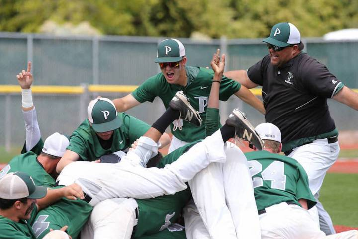 Palo Verde hopes to defend its Class 4A state baseball title this season. Cathleen Allison/L ...