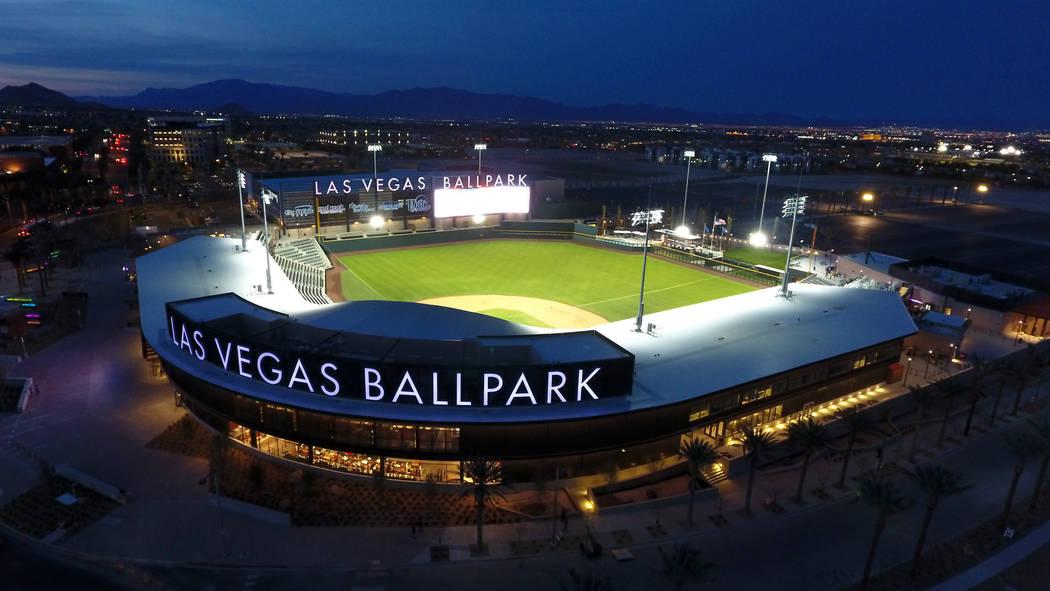 The Las Vegas Ballpark® in Downtown Summerlin, home of the Las Vegas Aviators® Tri ...