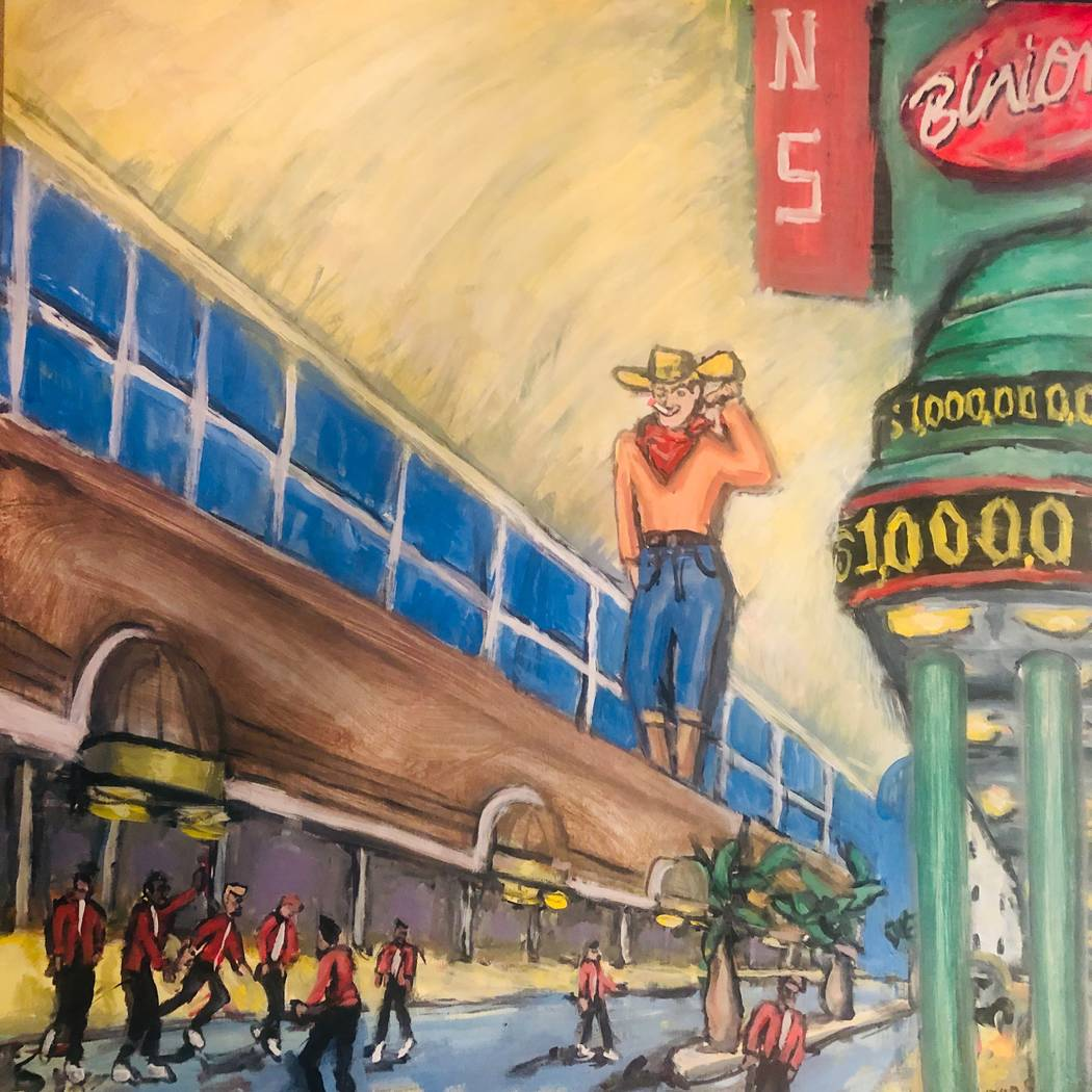 Byron Stout is the featured artist at July's First Friday.