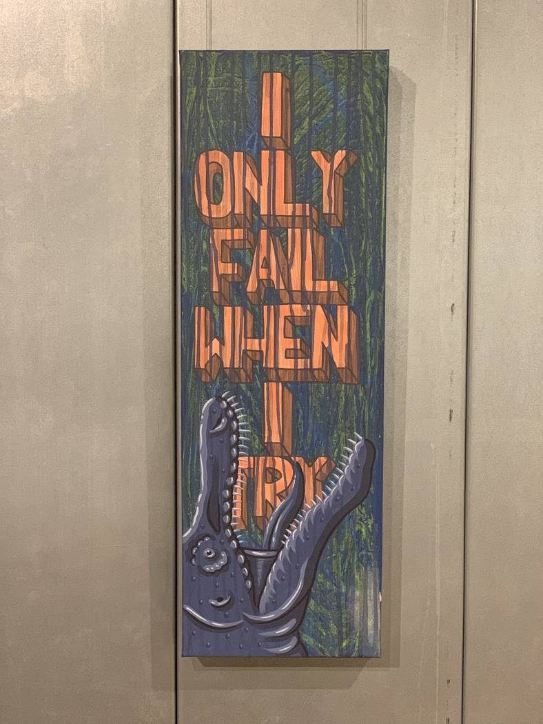 """""""I Only Fail When I Try"""" by JW Caldwell"""