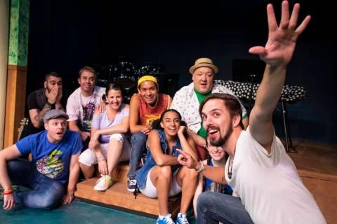 "Las Vegas Little Theatre's ""Godspell"" (KM2 Creative)"