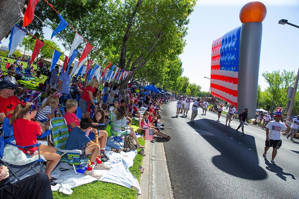 The Summerlin Council Patriotic Parade celebrates its 25th anniversary this year with more than ...