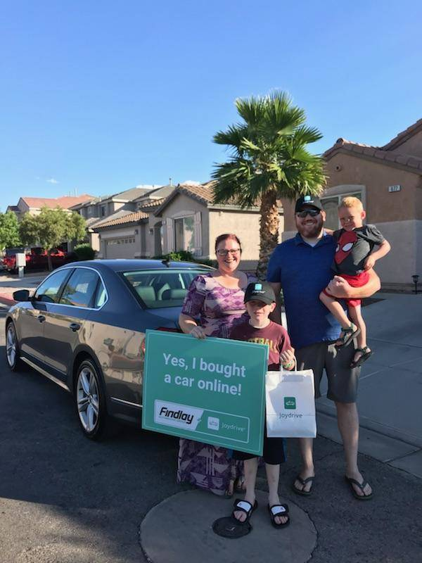 Cortney and Bryce Alvord recently purchased two vehicles through the Findlay-Joydrive process. ...