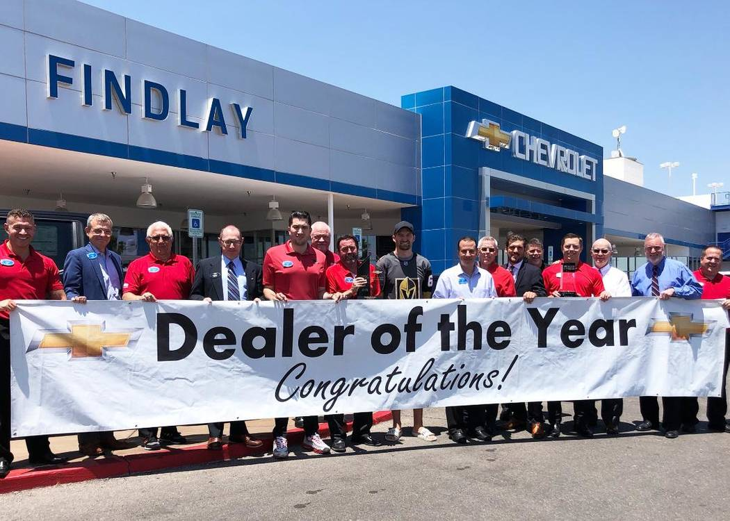 Findlay Chevrolet Wins Dealer Of The Year Honor Las Vegas Review Journal