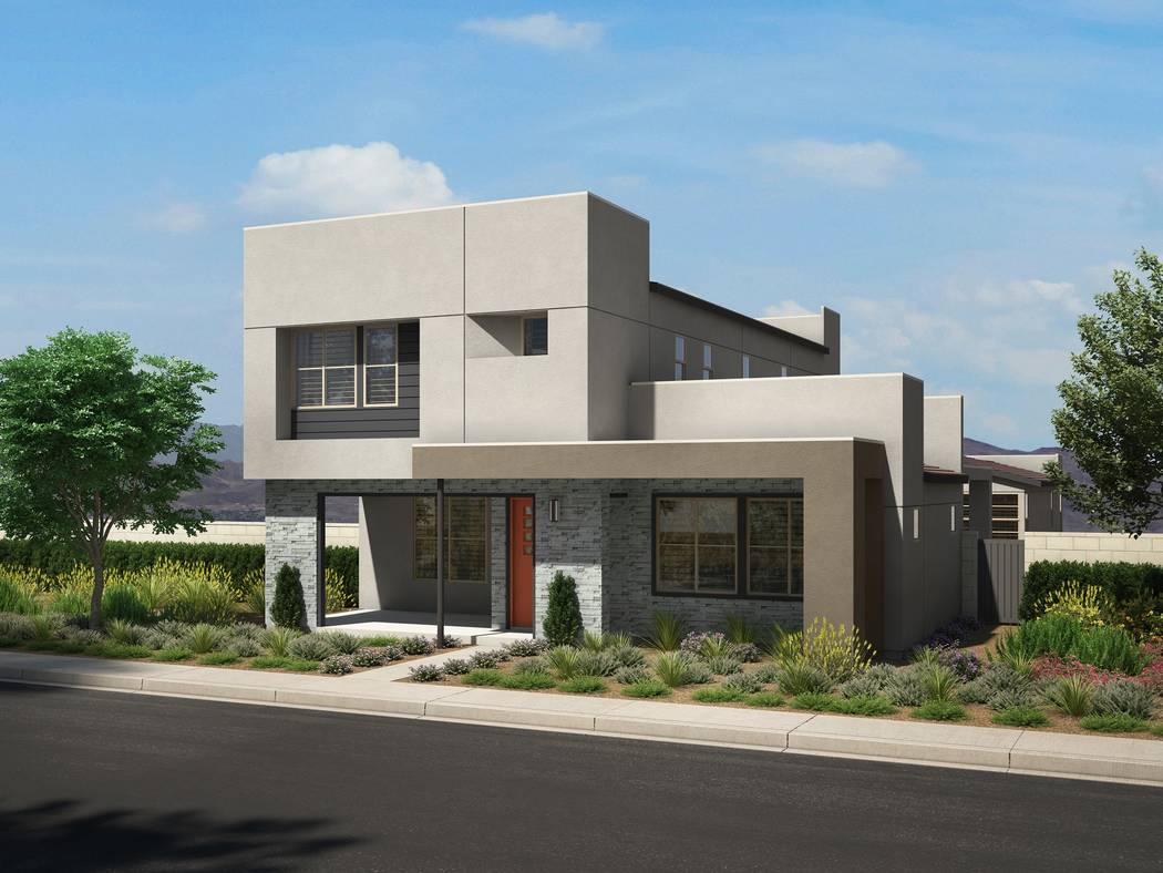 Strada 2.0 offers the next generation of the Strada collection by Pardee Homes in Inspirada Sho ...
