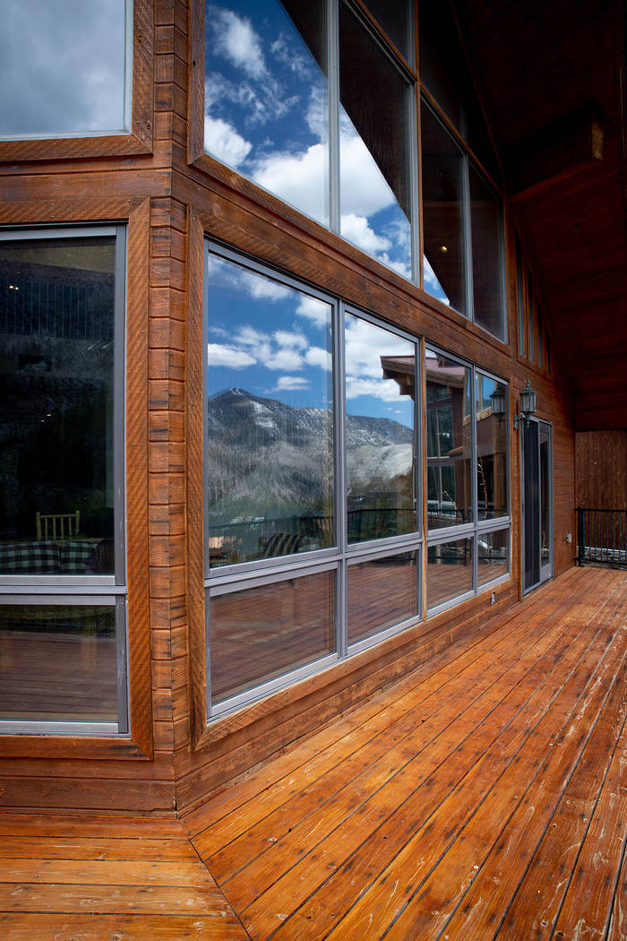 The 4,128-square-foot Mountain Charleston home is nestled atop Echo Canyon, a small subdivision ...