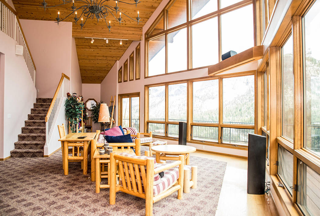 There is a loft upstairs. (Tonya Harvey Real Estate Millions)