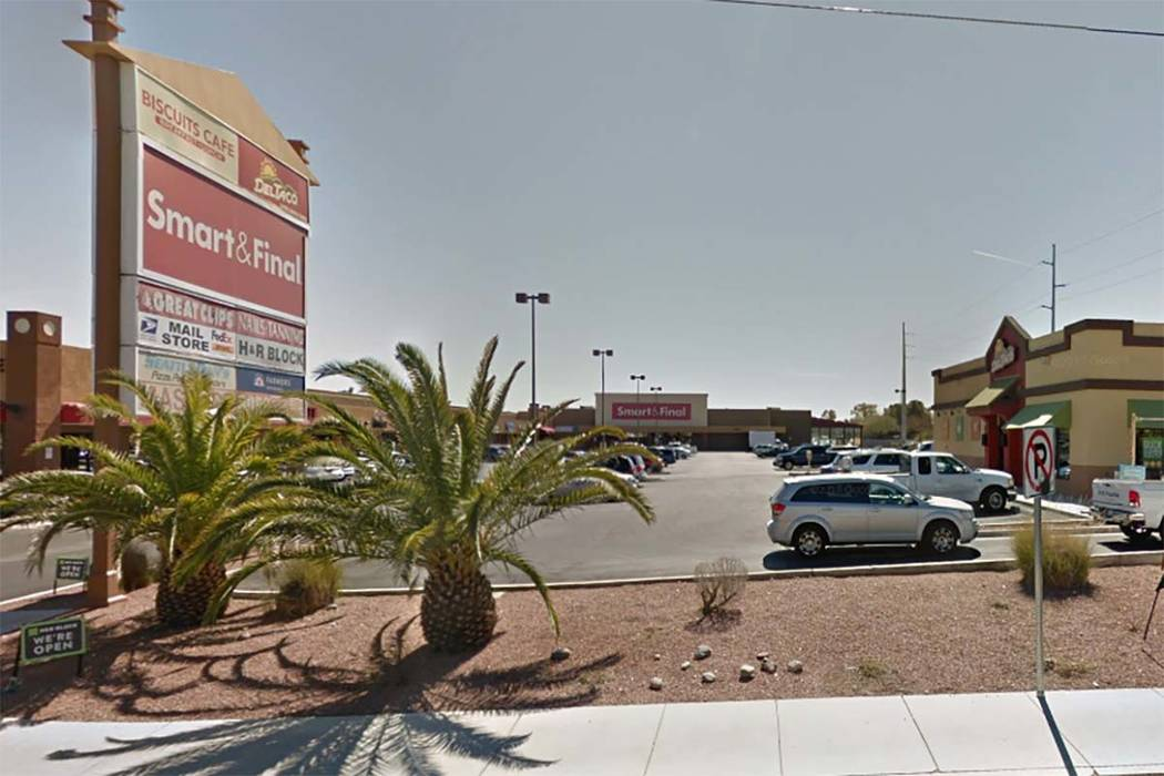 Smart & Final, 8485 W. Sahara Ave. (Google Street View)