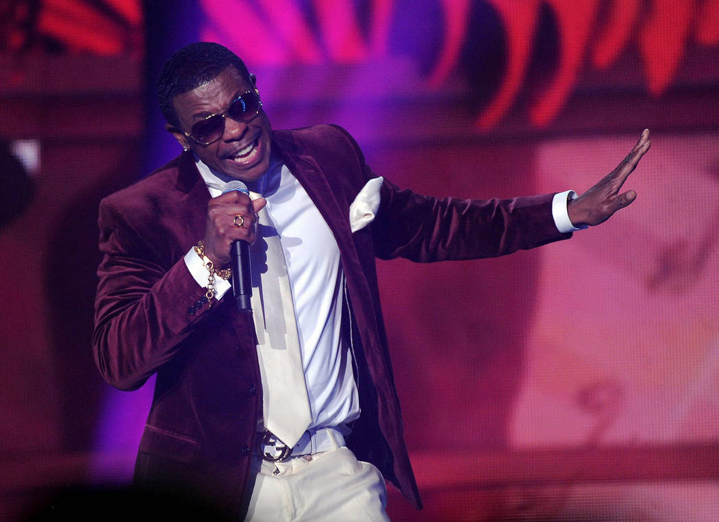 Keith Sweat performs onstage at the 2013 Soul Train Awards at the Orleans Arena on Friday, Nov. ...