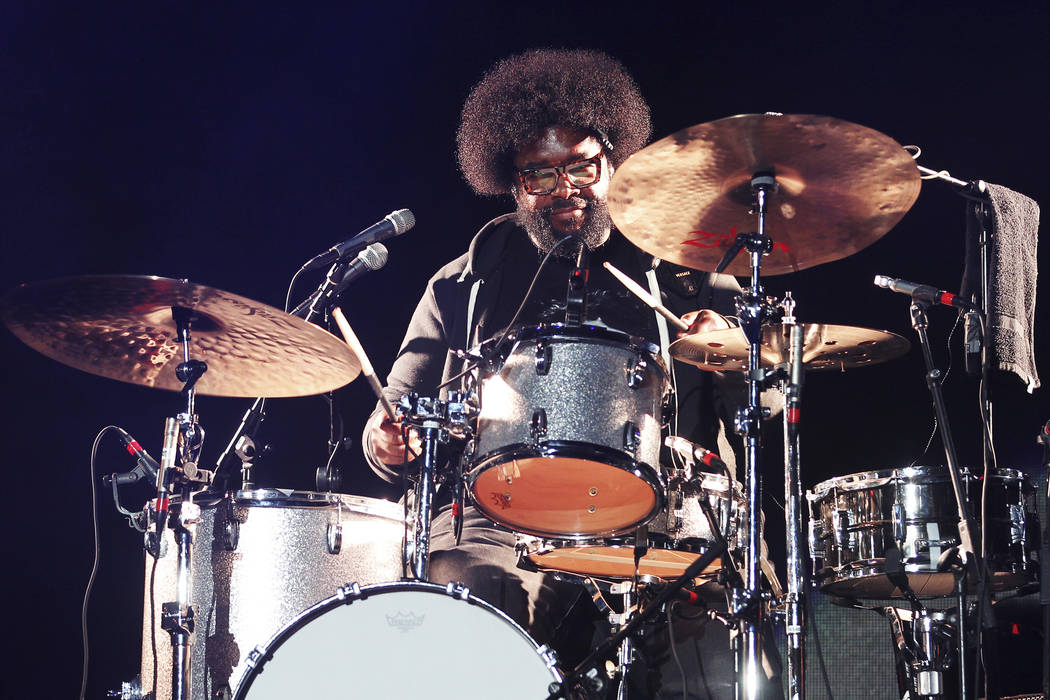 Questlove performs at the 2018 Essence Festival at the Mercedes-Benz Superdome on Friday, July ...