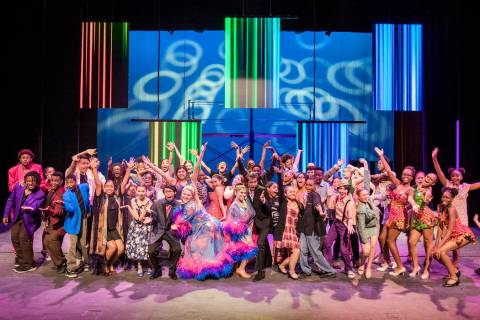 "Broadway in the Hood will perform the musical ""Hairspray"" on Friday and Saturday at U ..."