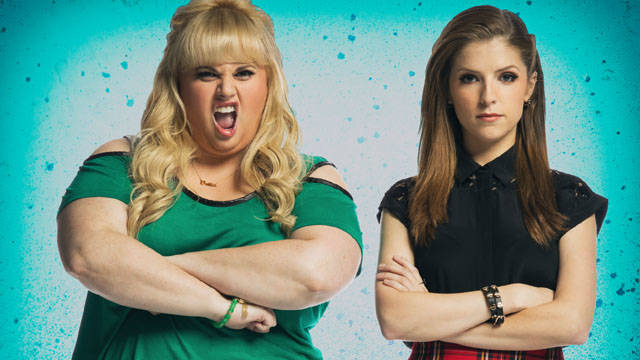 """Rebel Wilson, left, and Anna Kendrick star in """"Pitch Perfect 3,"""" scheduled to open in theaters ..."""