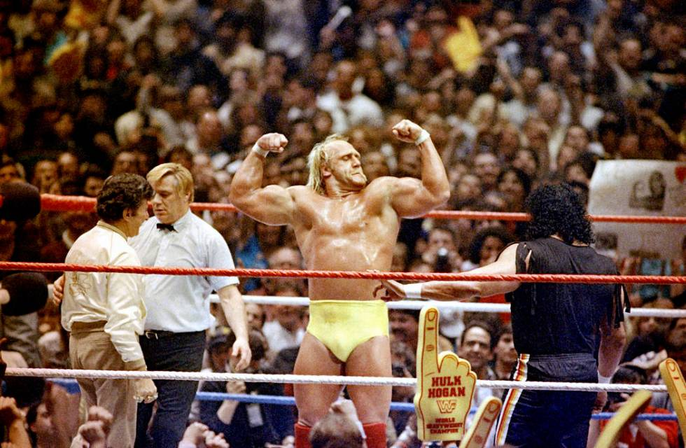 Wrestlemania at Madison Square Garden in New York, May 31, 1985. (AP Photo)