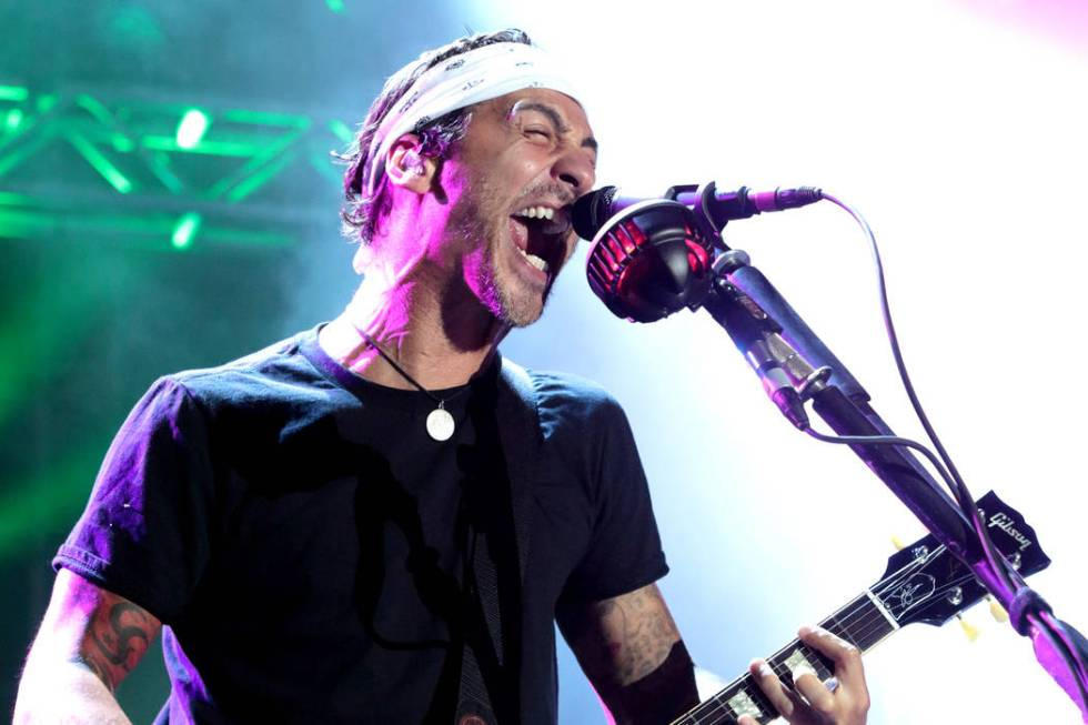 Sully Erna of the band Godsmack performs in concert during the 2015 Shindig Music Festival at C ...