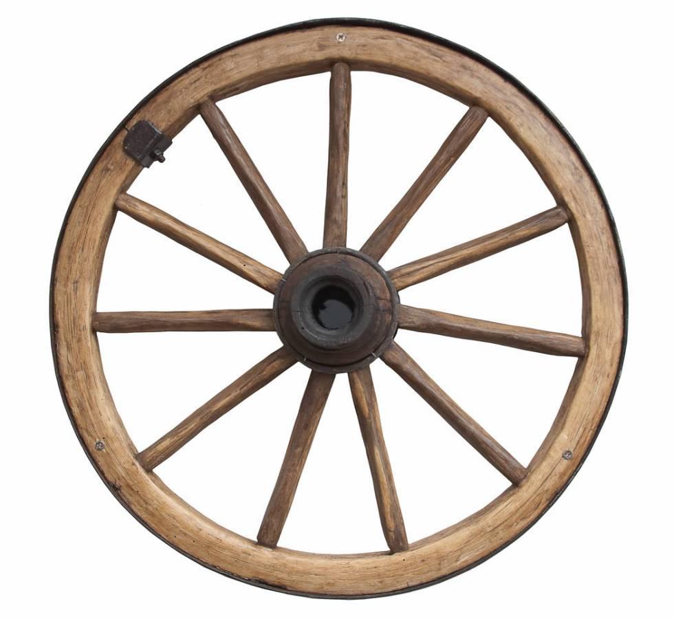 Old fashioned wheel