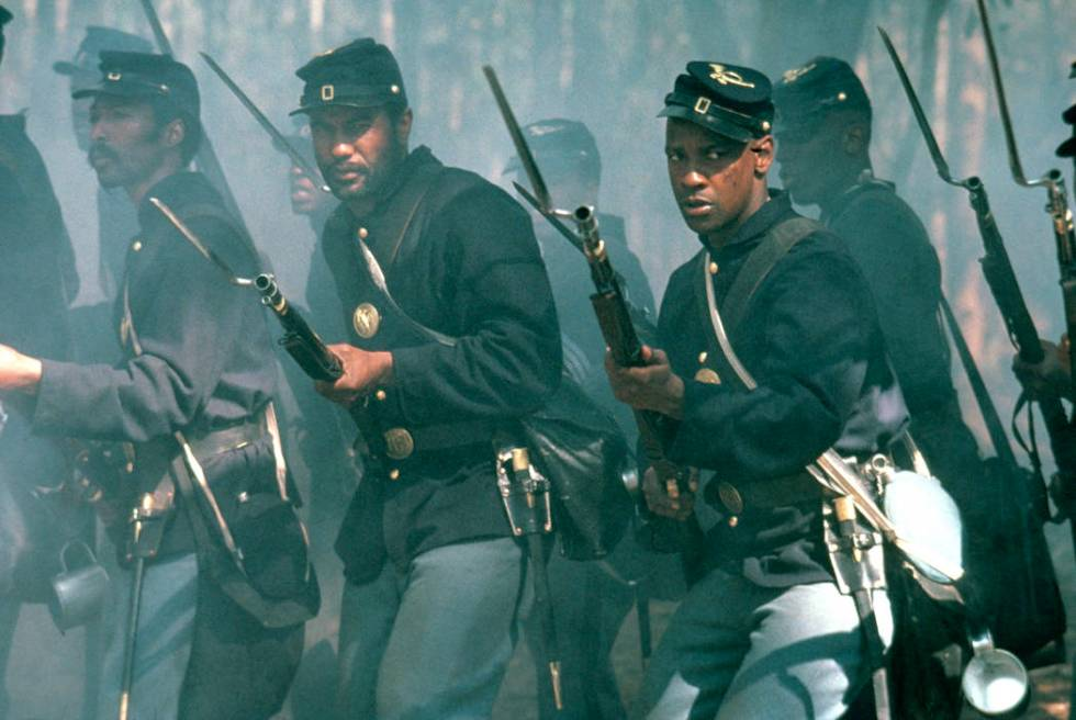 "Denzel Washington stars in ""Glory."" (Sony Pictures)"