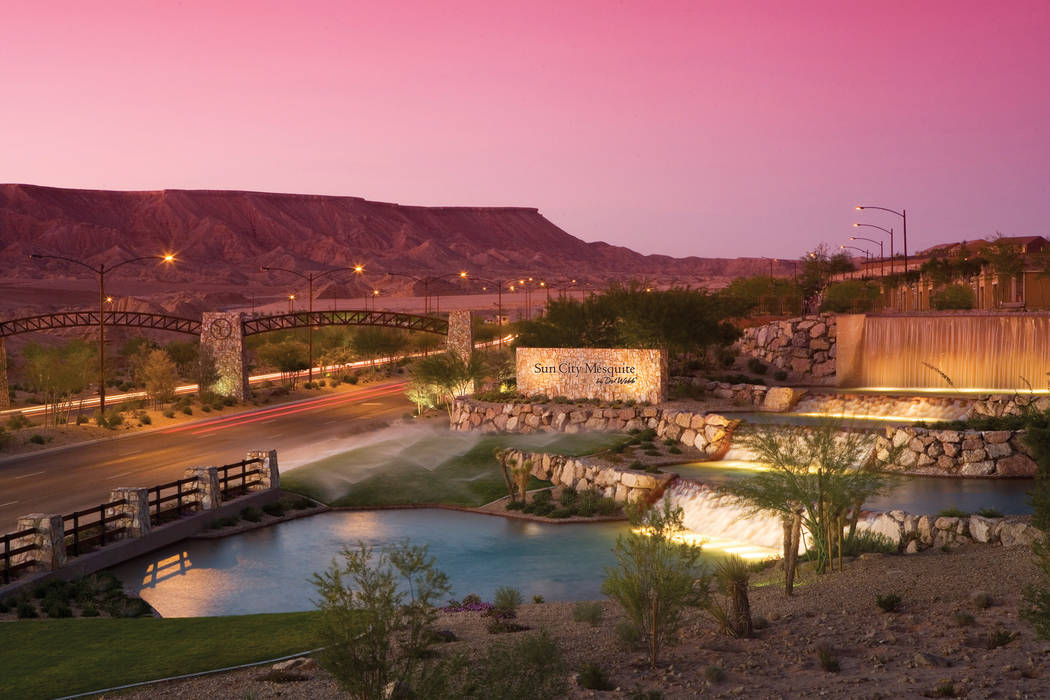 Sun City Mesquite by Del Webb received the Silver Nugget for Best 55+ Community. (PulteGroup)