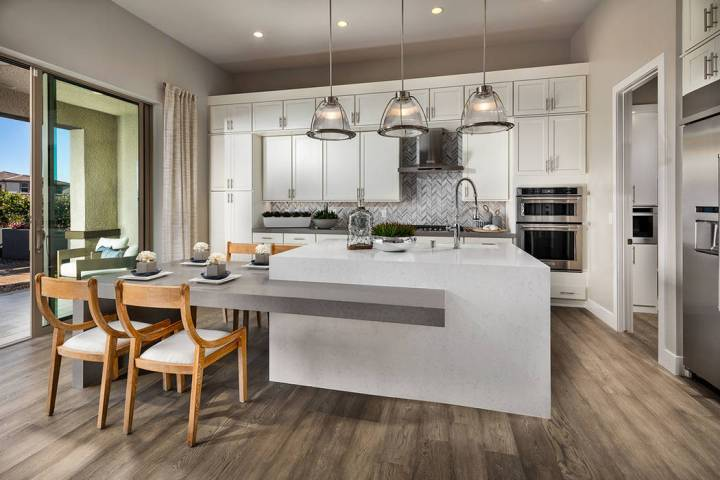 The Eclipse Elite model home at Shadow Point, by Toll Brothers, won the Silver Nugget Award for ...