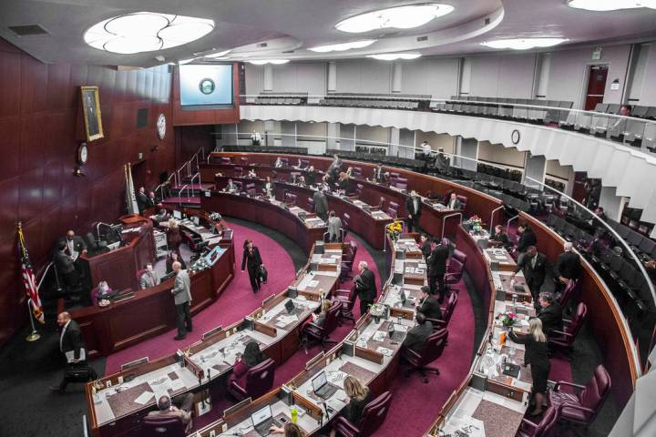 Nevada Legislature (Benjamin Hager/Las Vegas Review-Journal)