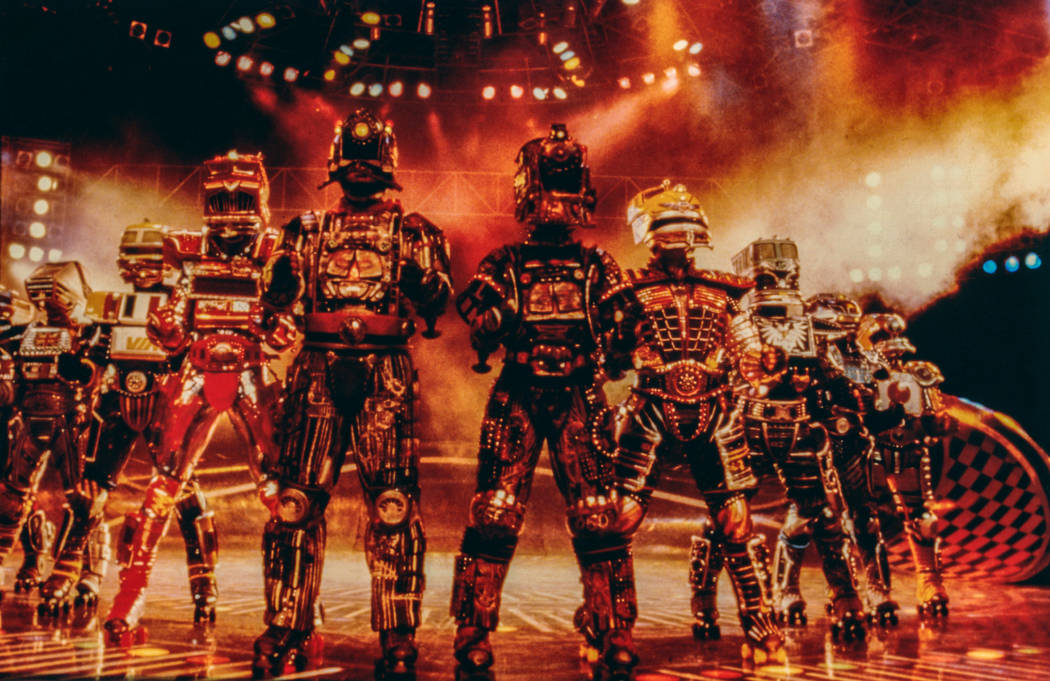 "Andrew Lloyd Weber's ""Starlight Express"" at the Las Vegas Hilton. (Westgate)"
