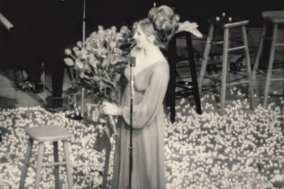 Barbra Streisand performs at the International in Las Vegas in 1969. (Westgate)